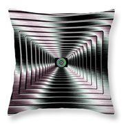 Luminous Energy 4 Throw Pillow