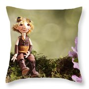 Lumuel In Spring Throw Pillow