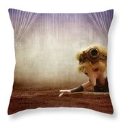 Lumuel In The Theatre Throw Pillow