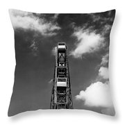 Luna Park, Coney Islance Brooklyn Ny Throw Pillow