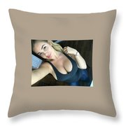 Luna Trim Throw Pillow