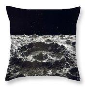 Lunar Crater, 1874.  Throw Pillow by Granger