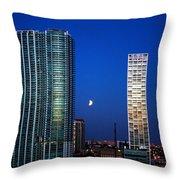 Lunar Eclipse-04apr2015-2 Throw Pillow