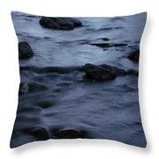 Lunar Flow Throw Pillow