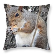 Lunch 2 Throw Pillow