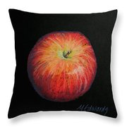 Lunch Apple Throw Pillow