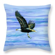 Lunch At Last Throw Pillow