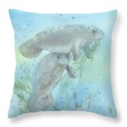 Lunch Crowd Throw Pillow