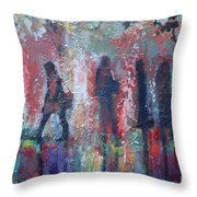 Lunch Hour Throw Pillow