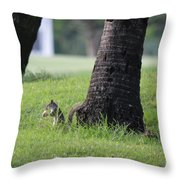 Lunch Time? Throw Pillow