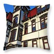 Lunenburg Academy 1 Throw Pillow