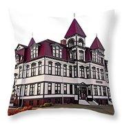 Lunenburg Academy 2 Throw Pillow