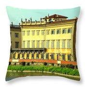 Lungo Arno Throw Pillow