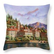 lungolago di Bellagio Throw Pillow