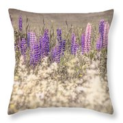 Lupine Remembered Throw Pillow
