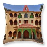 Lupita Church Throw Pillow