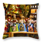 Lupitas Throw Pillow
