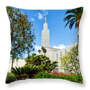 Lush La Temple Throw Pillow
