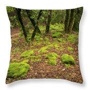 Lush Vegetation Throw Pillow