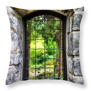 Lushness Beyond The Walls Throw Pillow