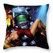 Lust In Space Throw Pillow