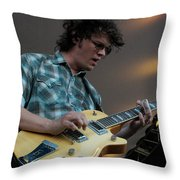 Luther Dickinson Throw Pillow