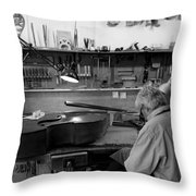 Luthier 1b Throw Pillow