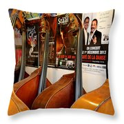 Luthier 2 Throw Pillow