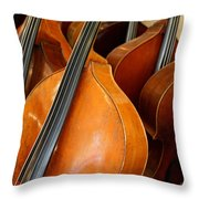 Luthier 4 Throw Pillow