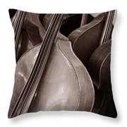 Luthier 4c Throw Pillow
