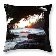 Lutsen Shore Four Throw Pillow