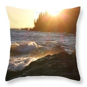 Lutsen Shore Throw Pillow