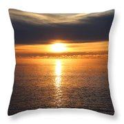 Lutsen Shore Sunrise Two Throw Pillow