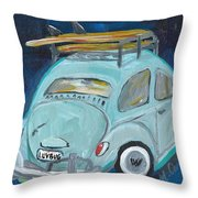 Luvbug Throw Pillow