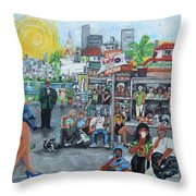 Luvlyfe.xyz - Love Life- Ama La Vida Throw Pillow