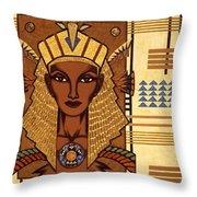 Luxor Deluxe Throw Pillow by Tara Hutton