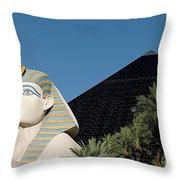 Luxor Hotel Las Vegas Throw Pillow