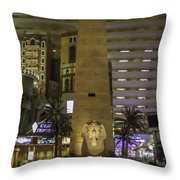 Luxor Interior 1 Throw Pillow