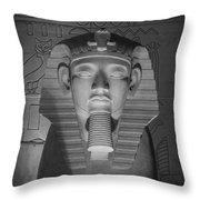 Luxor Interior 2 B W Throw Pillow