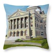 Luzerne County Courthouse Throw Pillow