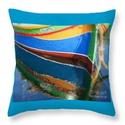Luzzu Reflections Throw Pillow