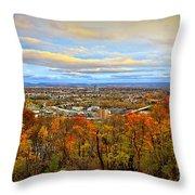 Lv Autumn Throw Pillow