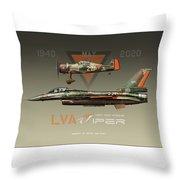 Lva Viper Demo Throw Pillow