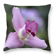 Lycaste Abou First Spring 0884 Throw Pillow