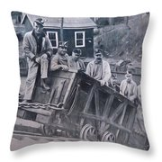 Lykens Valley Miners Throw Pillow