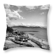Lyme Regis And Lyme Bay, Dorset Throw Pillow by John Edwards