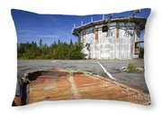 Lyndonville Air Force Station - Vermont Throw Pillow