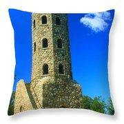 Lynn Woods Tower Throw Pillow