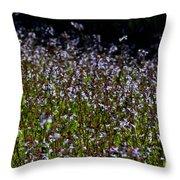 Lyre Leaf Sage Throw Pillow