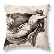 Lyre Of Orpheus Throw Pillow